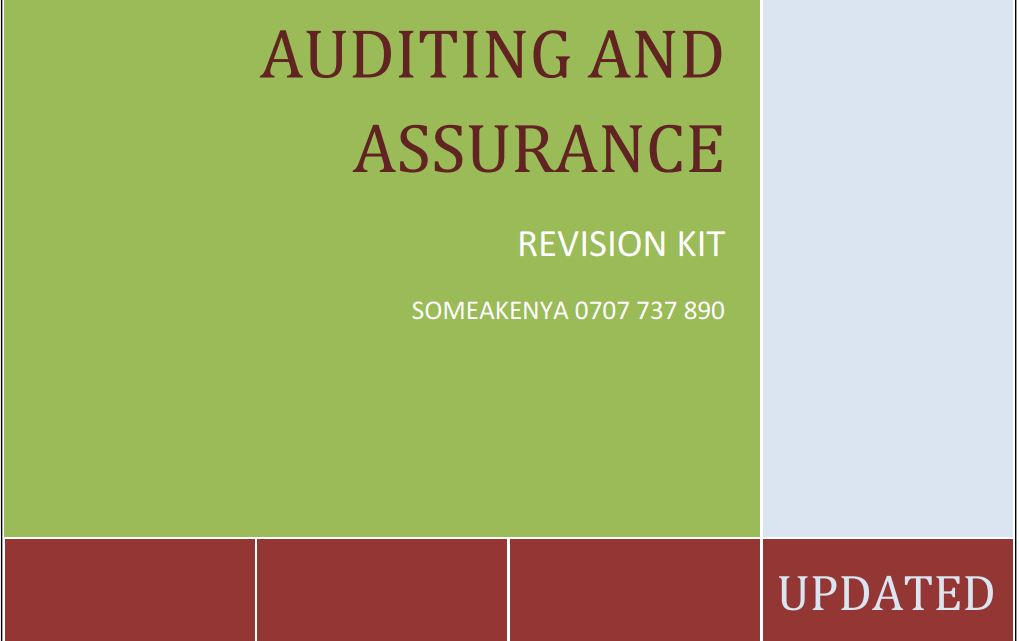 Auditing-and-Assurance-revision-kit